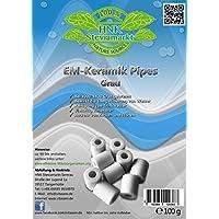 80 – 100 Unidades) en gris + EM cerámica Info folleto | microorganismos – Agua dispositivosindependientes & energet miniaturización | Quemado a 1000 – 1400 ...