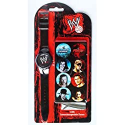 Groovy 25219 Unisex WWE Watch with Interchangeable Pictures