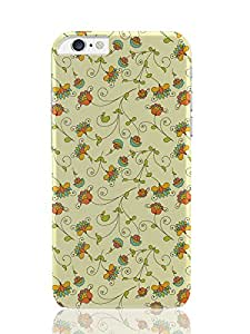 PosterGuy iPhone 6 Plus Case & Cover - Vintage Floral Pattern Quirky Graphic Art