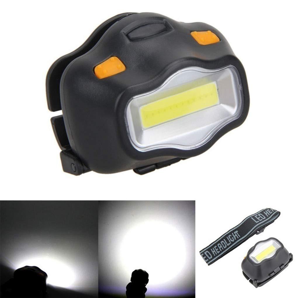 Emergency Lamp COB LED Flashlight Headlamp Torch Outdoors Fishing Headlight