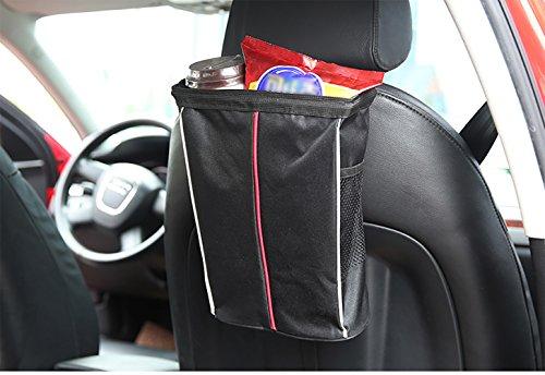 �ckenlehnen-Organisator, Autositz-Rucksack, Multibeutel-Reise-Beutel-Wasser-Glas, Wasserdichtes Papiertuch, Spielzeug Ba ()