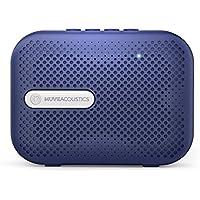 MuveAcoustics Box Portable Wireless Bluetooth Speaker with FM Radio, USB, Micro SD Card Slot, Mic (Flagship Blue)