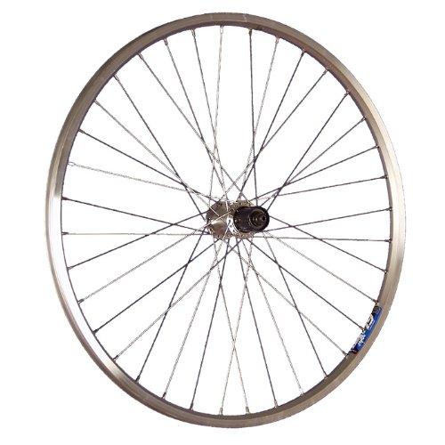 Taylor-Wheels Laufrad 26 Zoll Hinterrad Ryde Zac19 Shimano Tourney TX10 silber (Shimano Kassette 10-fach Mtb)