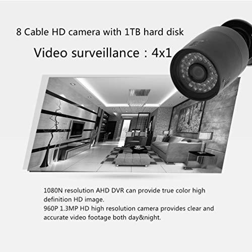 Gusaman 8CH 1080N HDMI DVR 4X 2000TVL CCTV-Videoüberwachungskamera-System 1 TB HDD#X Usb-hdd Dvr