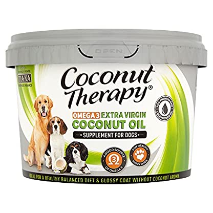 TIANA® Fair Trade Organics Coconut Oil Omega 3 Supplement For Dogs 500ml (Pack of 1) 1