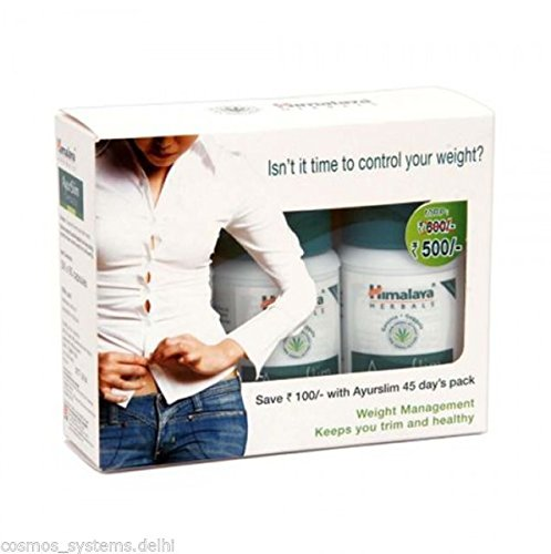 Himalaya Ayurslim Weight Loss 60 Capsules (Pack of 3)  available at amazon for Rs.508
