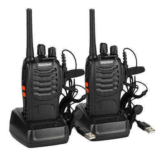 Baofeng BF-88E Ricetrasmittenti PMR446 Walkie Takie USB Ricaricabile 16 canali Ottima ricezione...