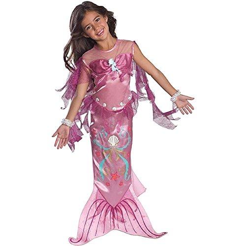 Rosa Meerjungfrau - Kinder- Kostüm - Todder - (Für Meerjungfrau Erwachsene Outfits Kleine)