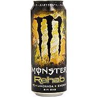 Monster Rehab Bebida Energética con Zumo de Frutas sin Gas - 0,5 l
