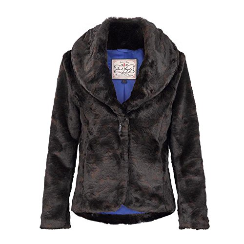 Jack Murphy Womens/Ladies Beatrice Soft Touch Faux Fur Country Jacket Queen Of Furs