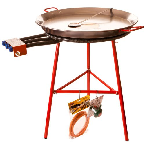 La ideal Professional Gas Ring Brenner, schwarz, 40cm