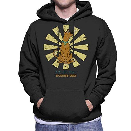 Scooby DOO Retro Japanese Men's Hooded Sweatshirt