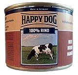 Happy Dog Hundefutter Rind Pur 200 g Dose Ergänzungsfutter