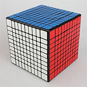 HAKATA Rubiks Cube Splaks Magic Cube 10x10x10 Smooth Speed Magic Cube Puzzle (10x10x10)