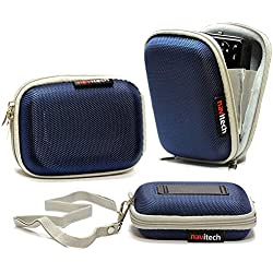 Navitech Housse étui Bleu Compatible avec Appareil Photo numérique Kodak Pixpro FZ53