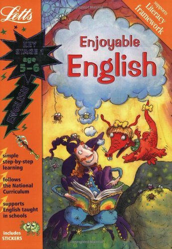 Enjoyable English Age 5-6 (Letts Magical Topics): Key Stage 1, Age 5-6