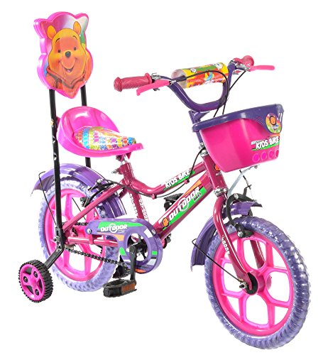 Outdoor Pink 14 Inches Bicycle For Kids 3 to 5...