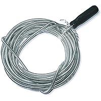 3m x 5mm Limpieza Del Eje De Tubería Flexible Espiral manguera Cable desatascador rohrreinigungs-welle abfluss-spiralle rohr-reinigungs-spirale
