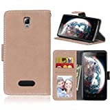 BONROY Case,Lenovo A2010 Angus2 Flip Leather Case,