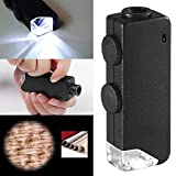 Best Pocket Books Microscopes - LSAltd Creative Novel Mini Pocket LED Handheld Adjustable Review