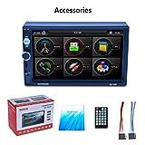 """Noradtjcca Touch Screen LCD da 7""""HD 800 * 480 Lettore MP5 per Auto 1080P 7 Sintonizzatore Pulsante Luce Posteriore Link Sintonizzatore FM/AM/RDS RK-7157B"""