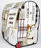 Abdeckhaube kompartibel für Kitchenaid, Mod. Kueche, Henkel, Schutzhaube, Cover, Husse, Kitchen aid, Handmade,