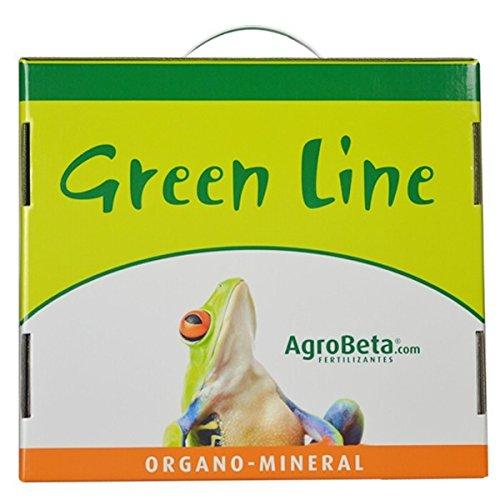 Agrobeta KIT FERTILIZANTES/ABONOS 1L. Green Line - REGALO: 3 SEMILLAS AUTO + POTENCIADOR BETA 9