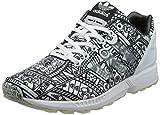 adidas Herren ZX Flux Sneakers, Weiß/Schwarz, 41 1/3 EU