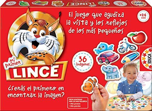 Comprar juego de mesa: Educa Borrás-Mi Primer Lince, Multicolor, 36 Imágenes (15676)