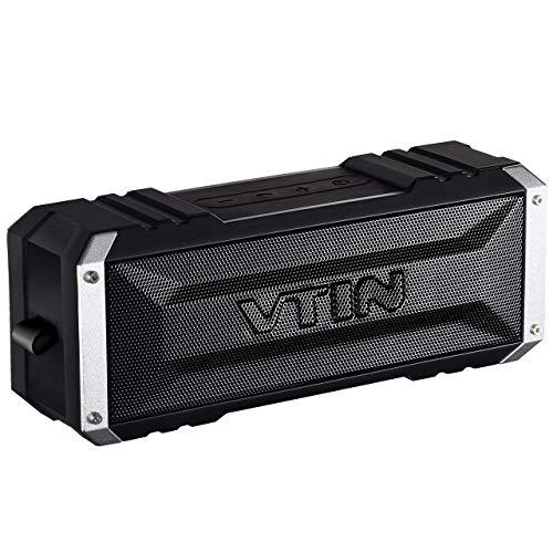 Vtin Punker - Altavoz bluetooth estéreo premium 20W con radiador pasivo, altavoz...