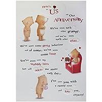Hallmark Anniversary Card, Here's To Us - Medium