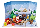 Ecoiffier Christmas Animals Abrick Advent Calendar