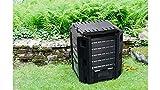 IDEA HIGH Prosper Plast IKST380C-S411 - Compostador (71,9 x 71,9 x 82,6 cm), Color Negro