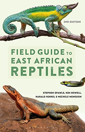 Field Guide to East African Reptiles por Steve Spawls