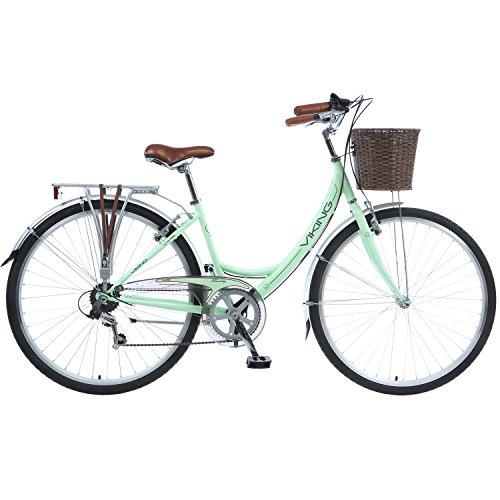 28 Zoll Viking Tuscany 6 Gang Citybike Stadt Fahrrad Hollandrad, Rahmengrösse:18 Zoll