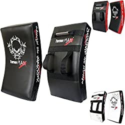 Turnermax Boxing Stanzen Treten Schild Curved Schwarz
