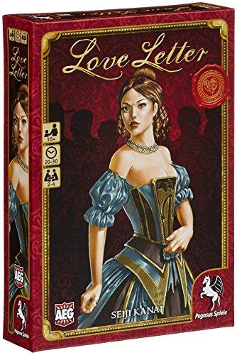 Pegasus 18210G - Love Letter, deutsche Ausgabe, Kartenspiele