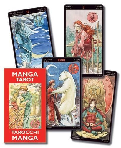 Manga Tarot: Miniature Deck: tarot card deck