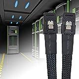 8Eninite Mini Sas36P Sff-8087 Tomini Sas36P Cable Server Cavo Dati Disco Rigido Nero