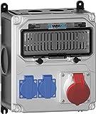 Bals Elektrotech. Steckdosen-Kombination 89147 Größe M CEE-Steckdosen-Kombination 4024941208475