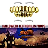Best Grillz Gold Caps - Hip Hop Custom Fit Plated Vampire 8 Hollow Review