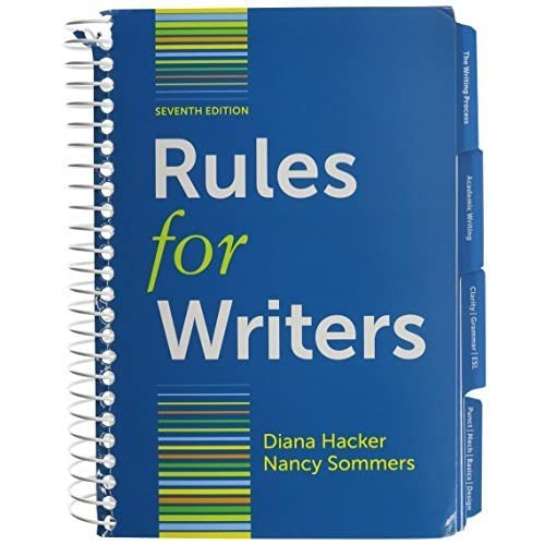 Rules for Writers with Writing about Literature (Tabbed Version) 7e & LearningCurve for Rules for Writers 7e (Access Card) by Diana Hacker (2013-01-01)