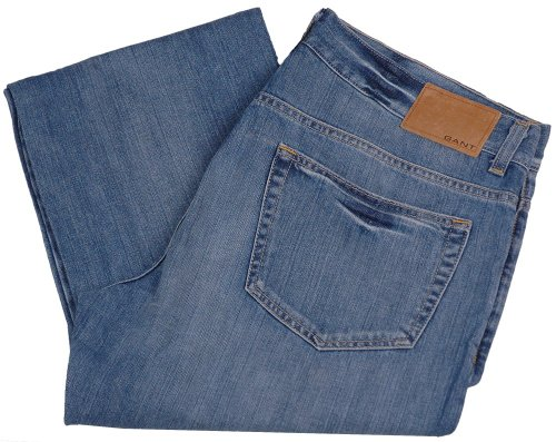 GANT Jeans da uomo pantaloni 2.Wahl, Model: TYLER, colore: blu, -- , nuovo ---, upe: 149,90 Euro blu 38 W/36 L