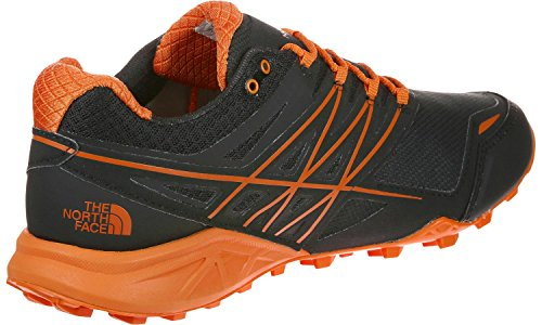 THE NORTH FACE ULTRA MT GTX TRAIL RUNNING GORE-TEX TNF Black Exuberance Orange