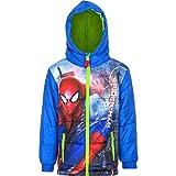 Marvel Spiderman Kinder Winterjacke, Art. 3383, blau, Gr. 104