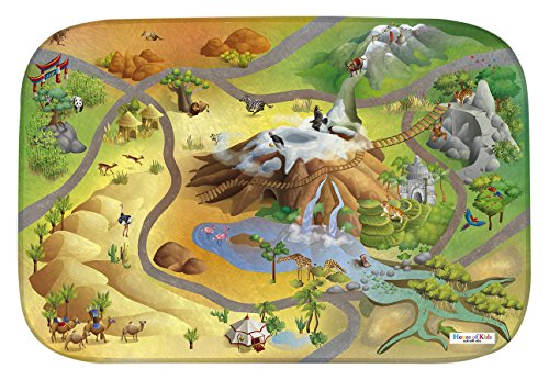 House Of Kids 88004-E3 - Playmat Ultra Soft Savane Connect, 70 x 100 cm