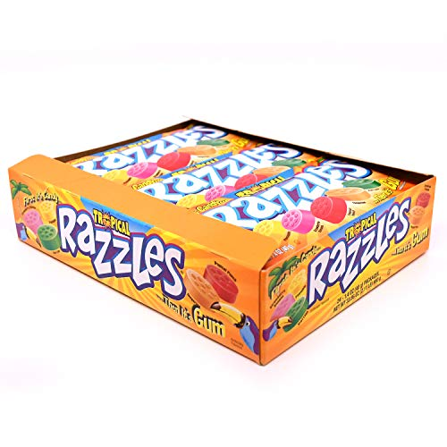 Razzles Tropical Punch, 6er Pack (6 x 40 g)