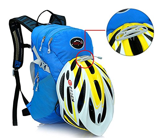 West Biking 15L Ciclismo Zaini Zaino Bicicletta MTB Bici da strada borsa attrezzatura per bicicletta Sport Campeggio Escursionismo sacchetti, unisex, nero viola