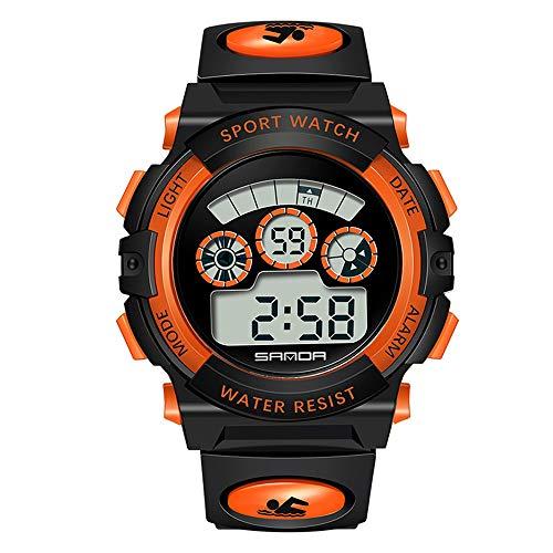 Huige outdoor moda luce sport orologio elettronico multifunzionale personalità maschile e femminile orologio impermeabile orologio