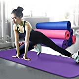 #3: BuyBox® Gym & Yoga Mat with carry bag - Multi Color (6mm)